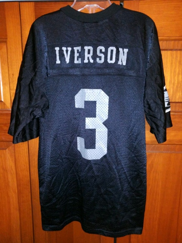 best authentic 93824 07c35 YOUTH I3 XL IVERSON #3 JERSEY/SHIRT BY REEBOK