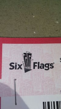 Six Flags for the holiday tickets Riverside