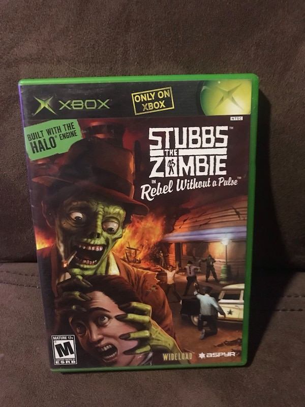 stubbs the zombie gamestop