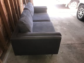 Couch, Dark Gray - Furniture