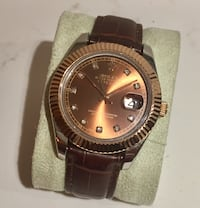 Datejust chocolate 41 Stockholm