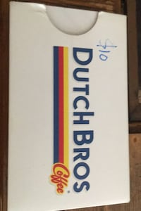 Dutch bros $10 gift card