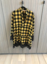 Checkered dress with lace trim Mississauga, L5K 1P2