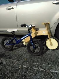 toddler's blue and white bicycle Alpharetta, 30022