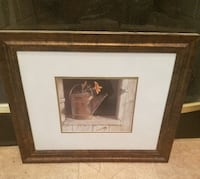 Rustic Country Watering Can Picture Wall Ar Katy