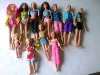 Barbie and Ken dolls lot of 11 Whitchurch-Stouffville, L4A 0J5