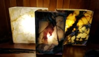 Natural Canadian Onyx Stone Lamps  Toronto, M9N