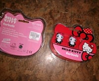 $15 nwt HOT TOPIC - Hello Kitty Panda earbuds Manchester, 03103