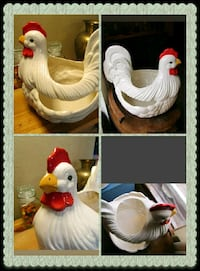 Large 1970s hen/ rooster Fenton