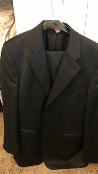 Alexander London suite (jacket and pants) dry cleaned pressed and ready to go. Very high quality.  Severn, 21144