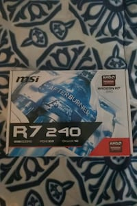 R7 240 Graphics Card New.  Henderson, 89012