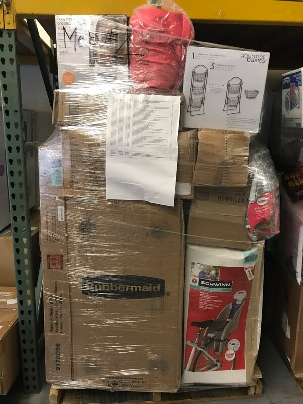 Used Wholesale Discount Amazon pallet for sale in Los