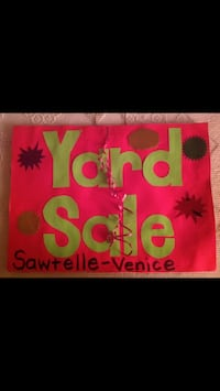 Yard Sale Saturday May 25 8-2pm Sawtelle/Victoria  Los Angeles, 90066