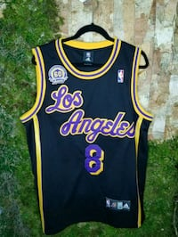 Kobe Bryant #8 Los Angeles Lakers Jersey: 60th     2276 mi