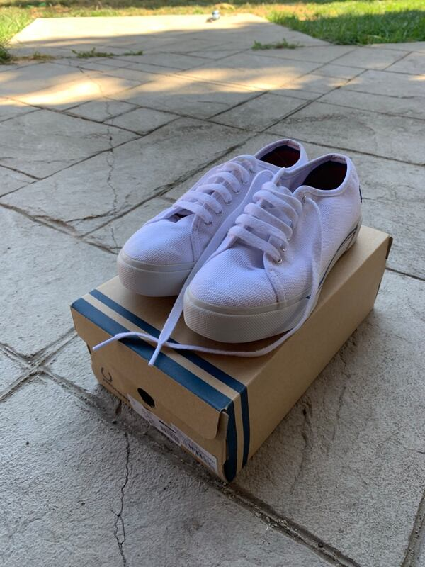 Fred Perry Phoenix Flatform size 7 2