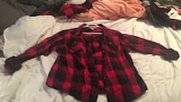 Womens XL Red Flannel