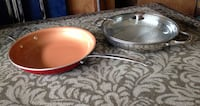 2 Frying Pans in excellent condition, like new!