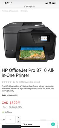 Hp printer - all in one  Toronto, M3C 1S5