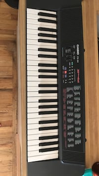 Black Casio electric keyboard Beaverton, 97008