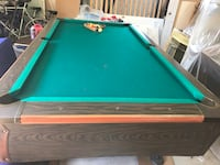 Green and brown pool table Silver Spring, 20902