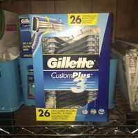Gillette Custom Plus 3 Disposable Razor 26 Pack Woodbridge, 22192