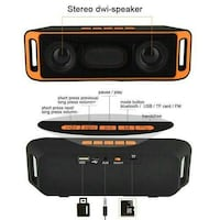Blutooth Speaker/USB/Aux/Flash Memory