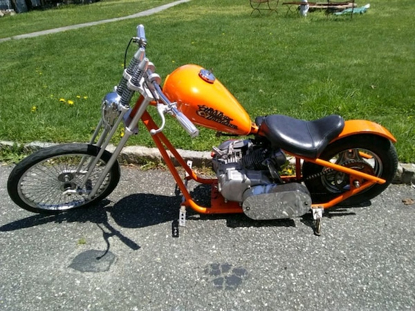 First 800 Takes Chopper Motorcycle