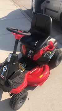 red and black ride on mower Chicago, 60608