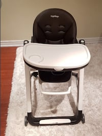 baby's white and black high chair Mississauga
