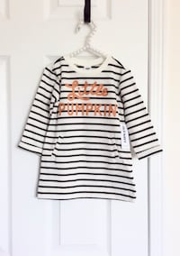 Old Navy baby girl's pumpkin dress size 6-12 months- New with tags Mississauga, L5M 0C5