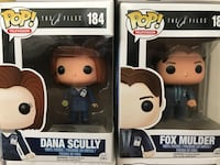 the X Files Fox Mulder Dana Scully funko pop vinyl set Englewood, 80110