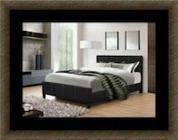 Full platform bed free box spring and delivery Crofton