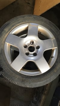 5 Audi rims - all season tires  Milton