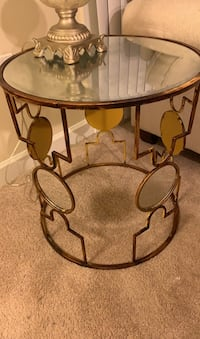 Vintage Glass End Table Set Alexandria, 22312