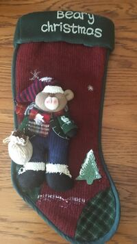 Red and black beary christmas socks Knoxville, 37923