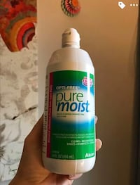 Expired Contact Solution for making Slime