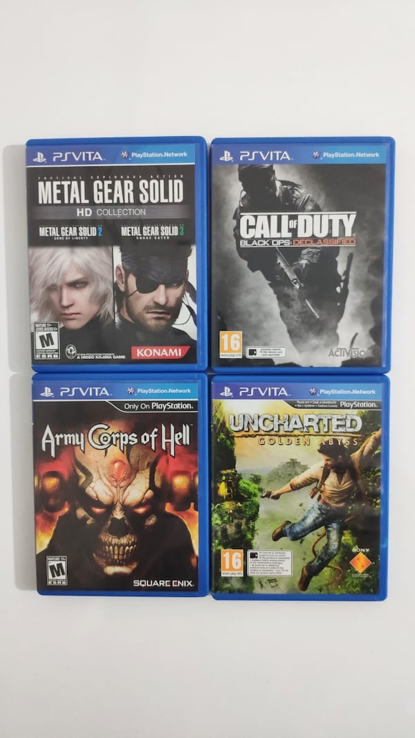 PS Vita Oyun - Call of Duty, Uncharted, Metal Gear Solid, Army Corps dcc2fff4-c985-4be3-8aa7-e13aceaf2371
