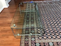 Heavy duty glass coffee table  Alexandria, 22315