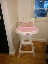 Carter's high chair with padded seat Alexandria, 22307