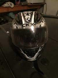 gray and white full face helmet Brampton, L6P 3K7