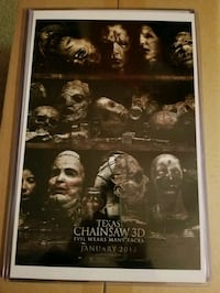 Texas Chainsaw 3D Movie Poster  Bunker Hill, 25413