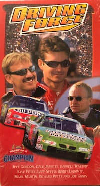 NASCAR Driving Force, Heart of a Champion 1998 VHS Video (New)