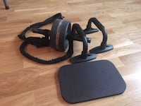 Roller kit home gym equipment