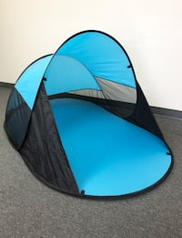 "New $25 Blue Outdoor Beach Instant Tent Portable Pop Up Hiking Camping Shelter 86""x47""x35"" South El Monte"