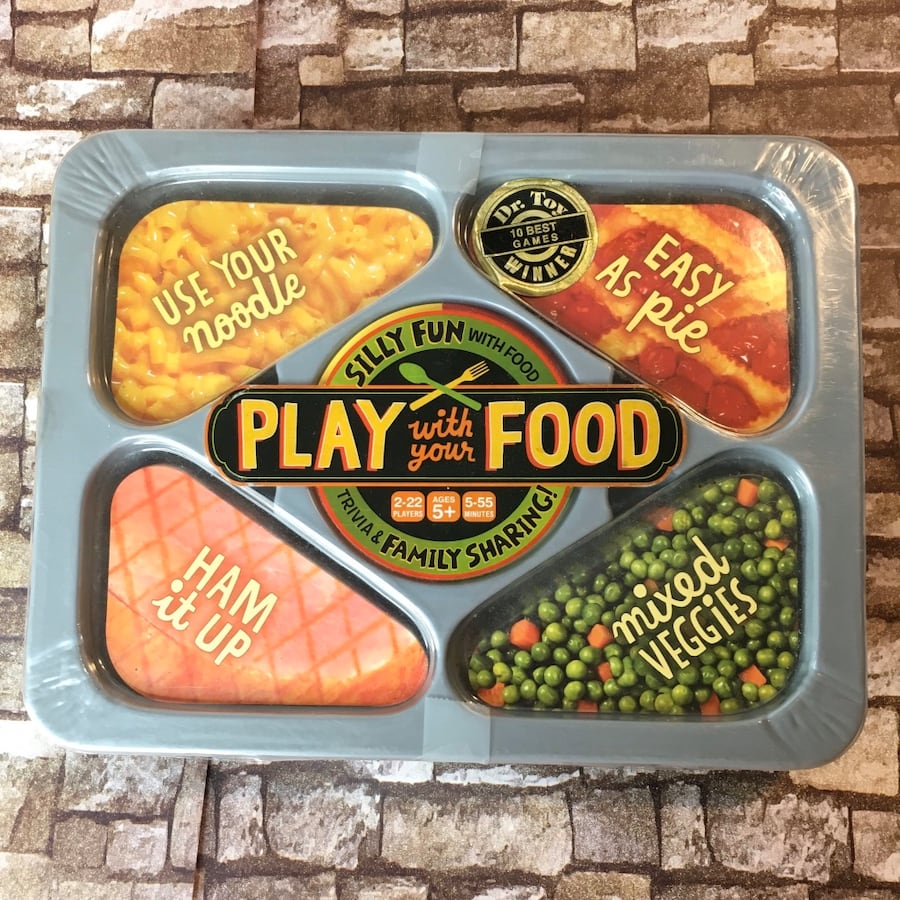 Play food card game