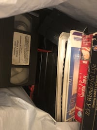 VHS Tape Collection WASHINGTON