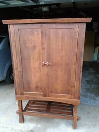 Entertainment cabinet $60 Garden Grove, 92840