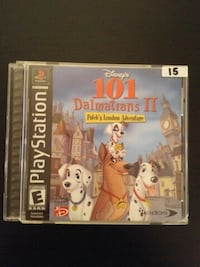 101 Dalmatians 2 for PS1 Vaughan, L4L