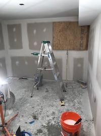 New drywall floors bathrooms remodeling plumbing floors laminate tile hardwood  Sterling