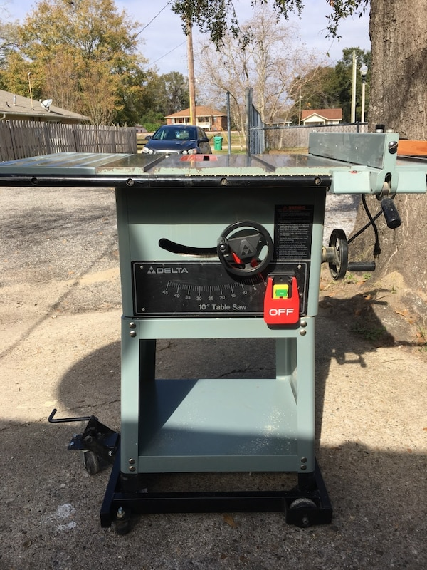 Used Delta 34 670 Table Saw For In
